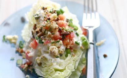 Blue Cheese Wedge Salad Recipe