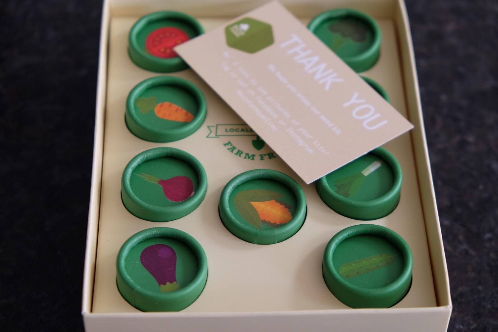 Ecofarms Vegetables Seed Kit
