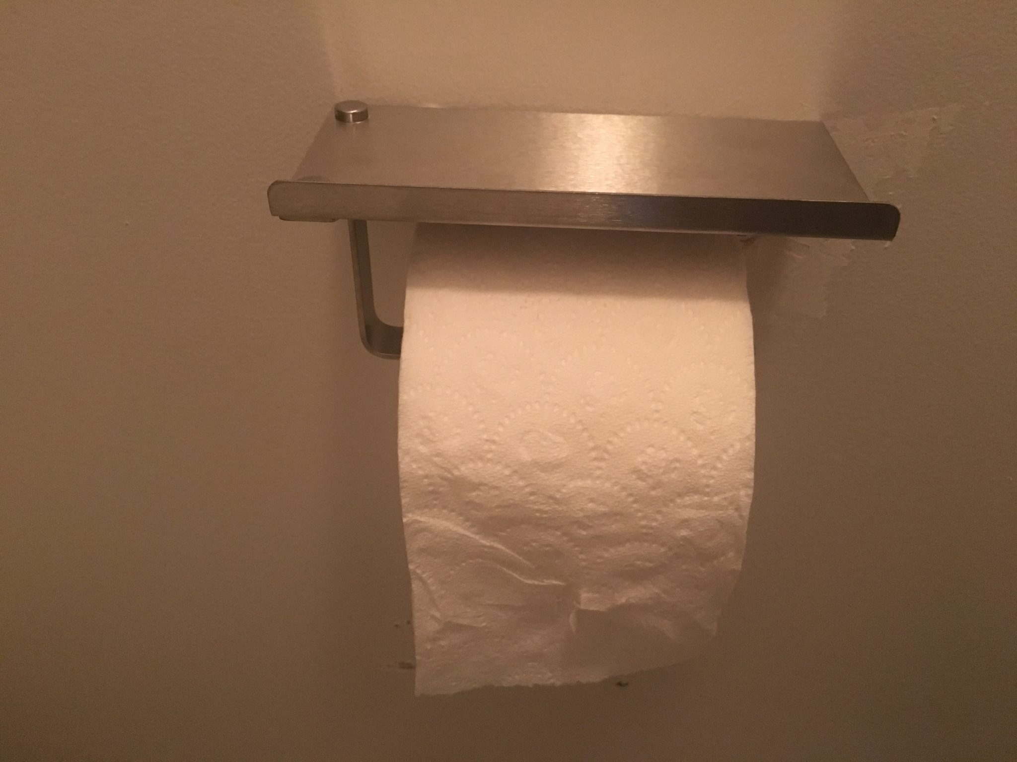 Cool Toilet Paper Storage: Unique Toilet Paper Holder With Cell Phone Tray