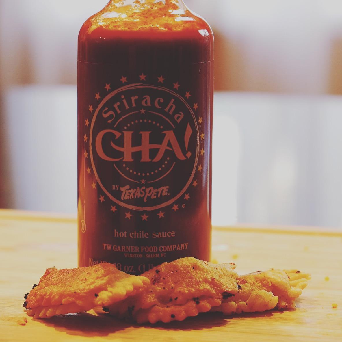 CHA! Sriracha Sauce Buffalo Chicken Empanadas Recipe