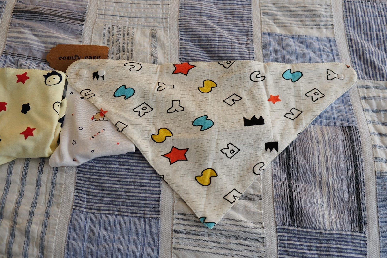 Baby Bandana Bibs for Drooling and Teething Unisex 4 Pack Gift Set