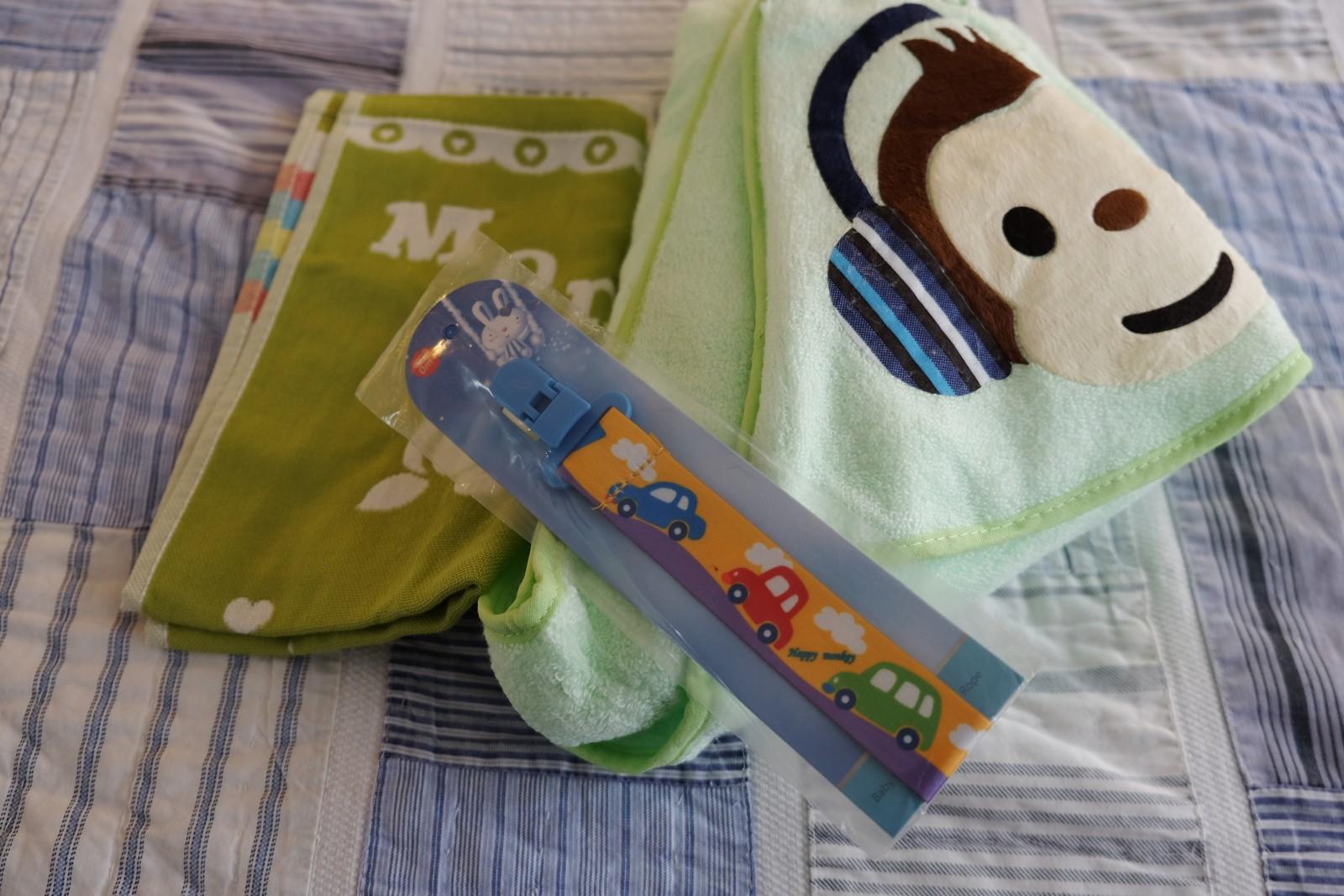 Hooded Baby Bath Towel For Boys Girls Organic Cotton