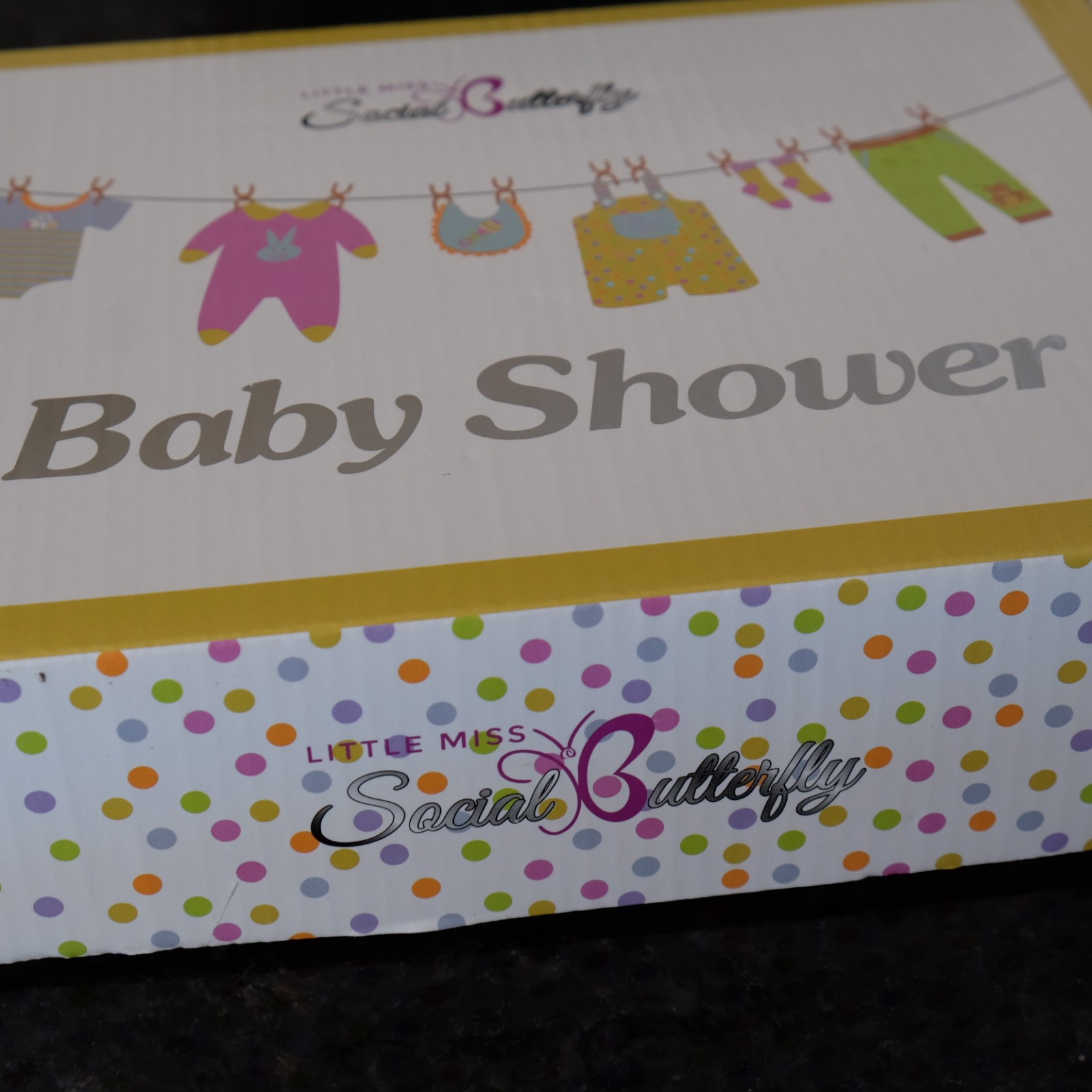 The Perfect All Inclusive Baby Shower Kit