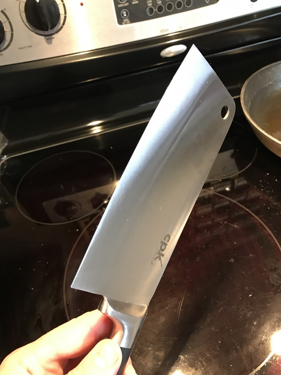 Chef's Dream Meat Cleaver under $10