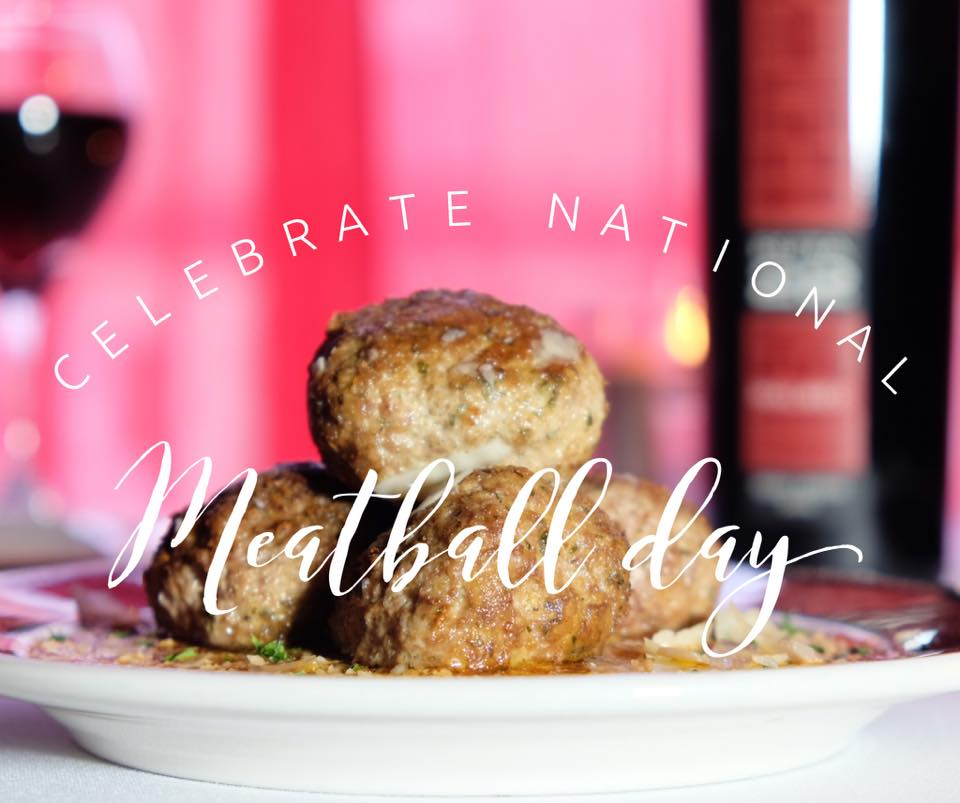Celebrate National Meatball Day