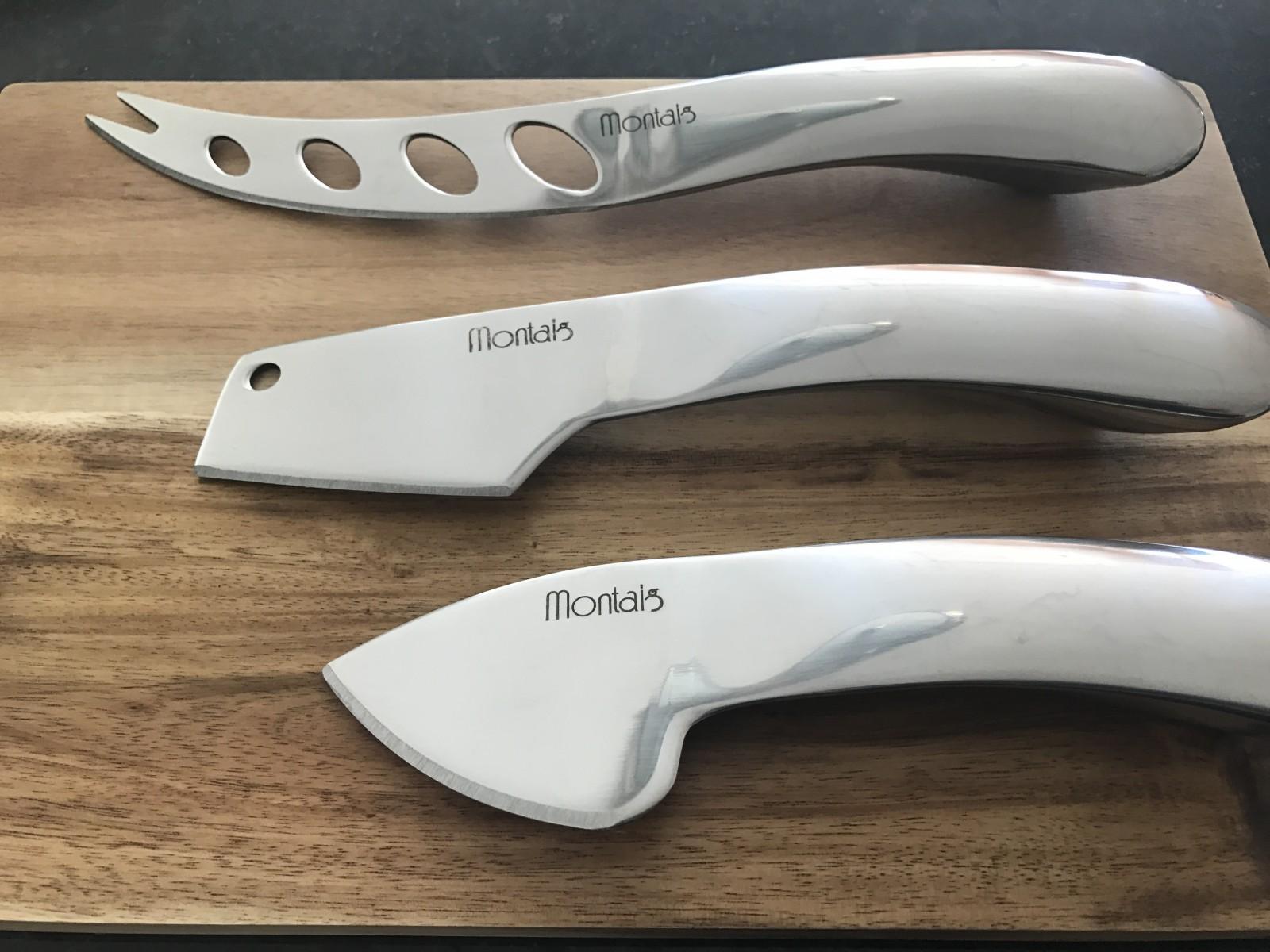 Stylish Cheese Knife Set Wood Cutting Board