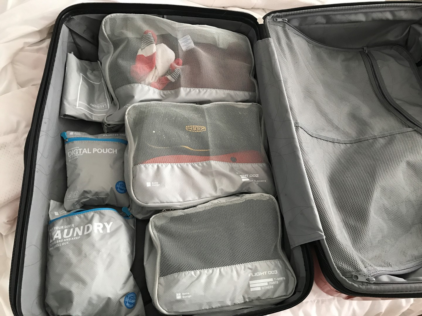 Luggage Packing Travel Cubes Laundry Bag