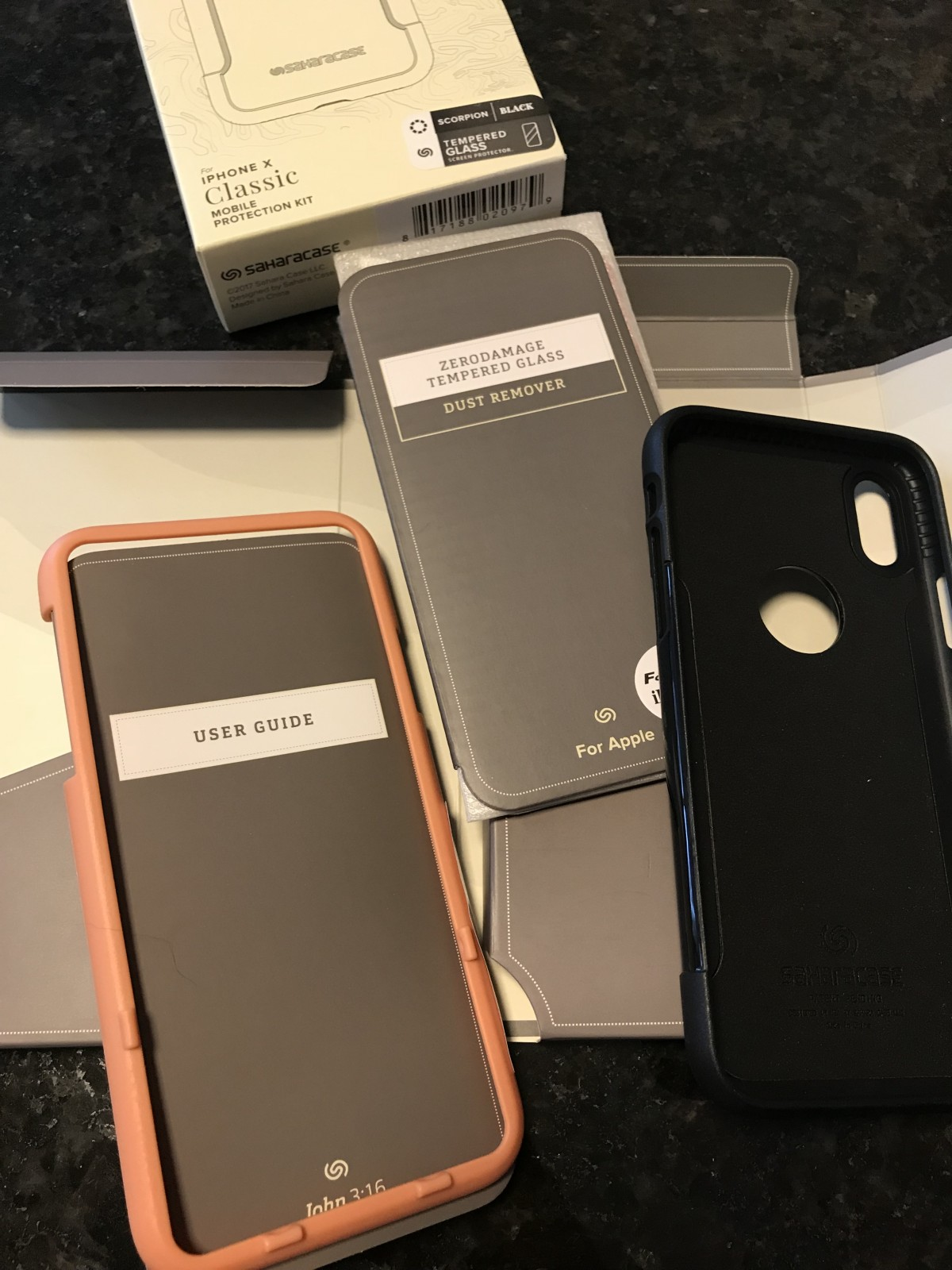 Apple iPhone X Case 10 Screen Protector