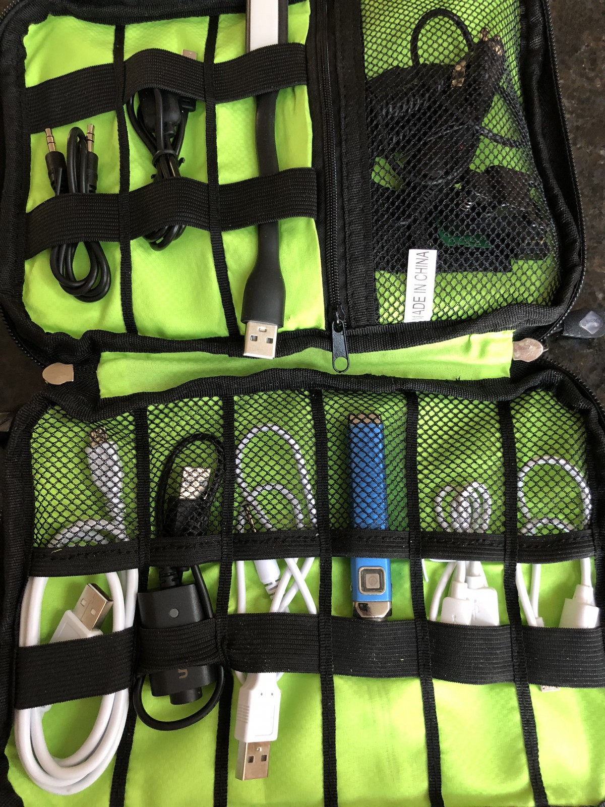 Organize Your USB Cables – Travel & Junk Drawer Organizer