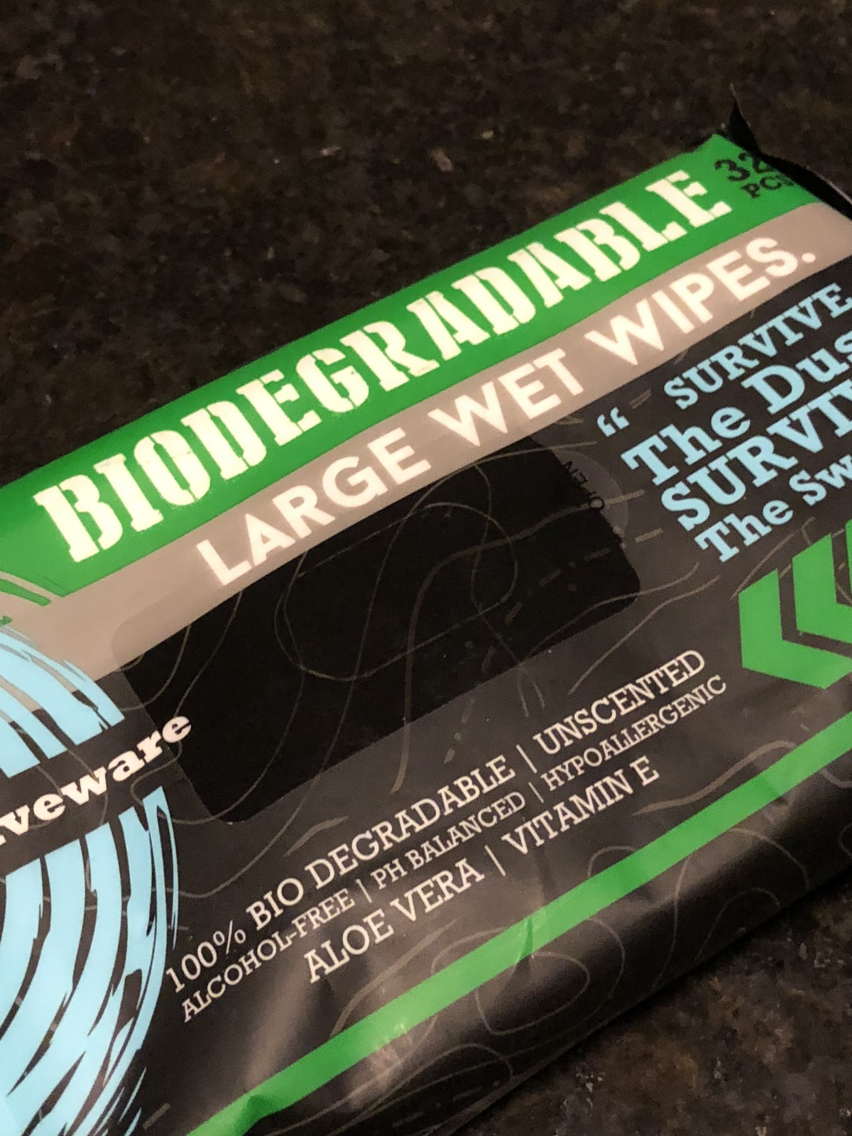 Surviveware Biodegradeable Wet Wipes