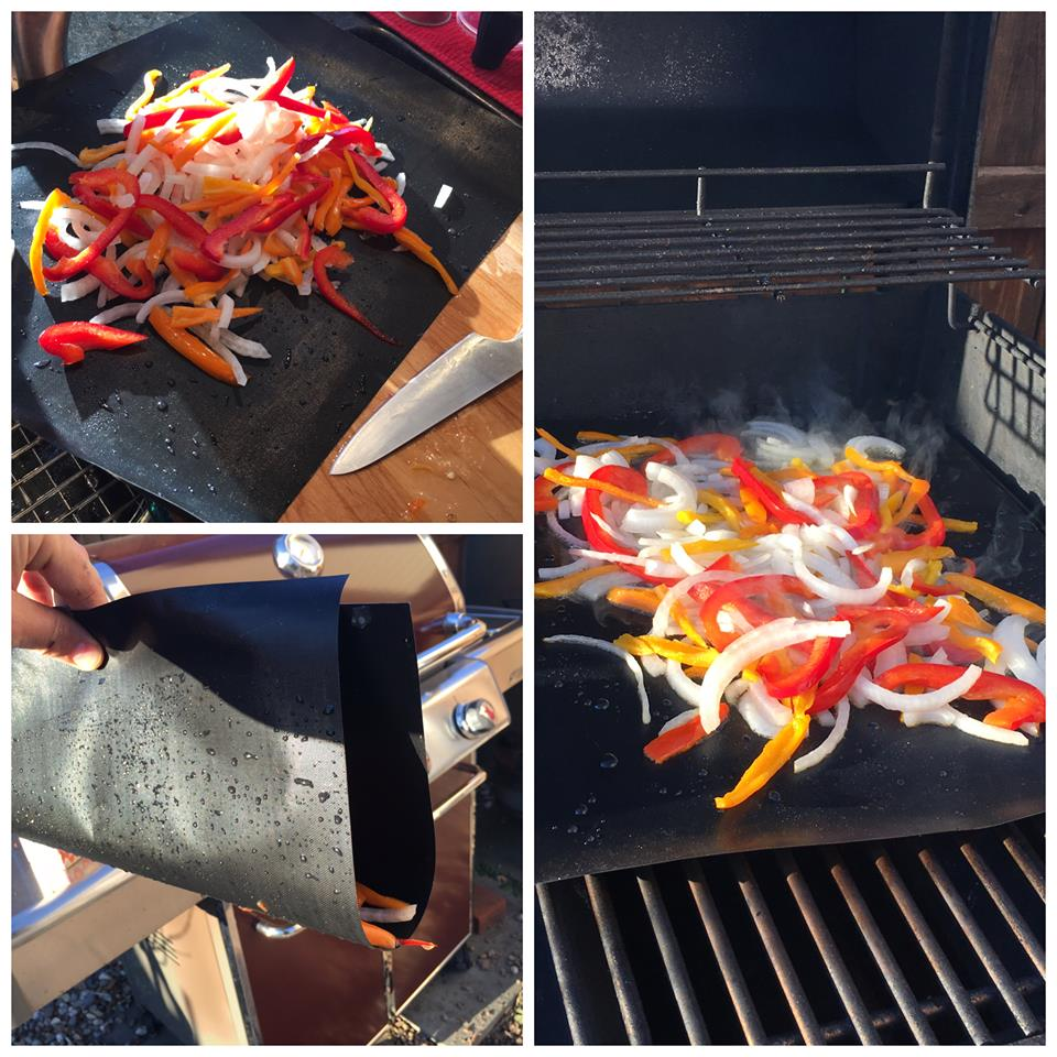 REVIEW: Grill up veggies on your GearUltimate BBQ Grill Mat!!